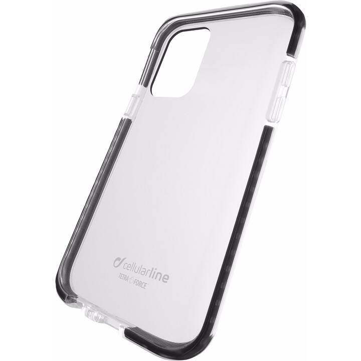 CELLULAR LINE Backcover Tetra Force Shock-Twist (Galaxy S10 Lite, Transparent, Schwarz)