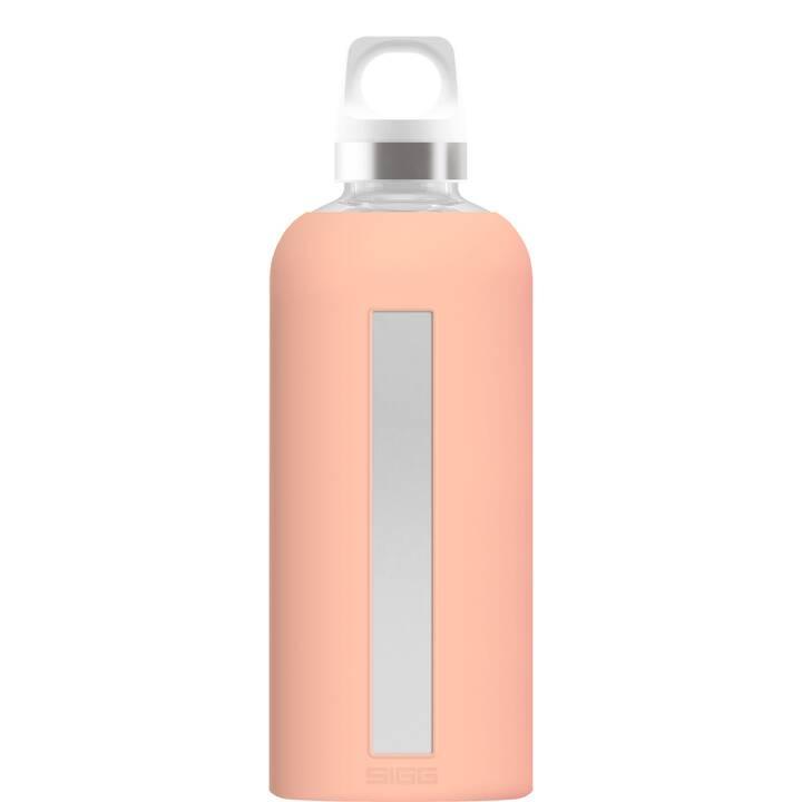 SIGG Borraccia Star Shy Pink (0.5 l, Pink, Argento)