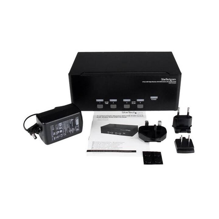 STARTECH.COM KVM-/Audio-/USB-Switch (4 Anschlüsse)