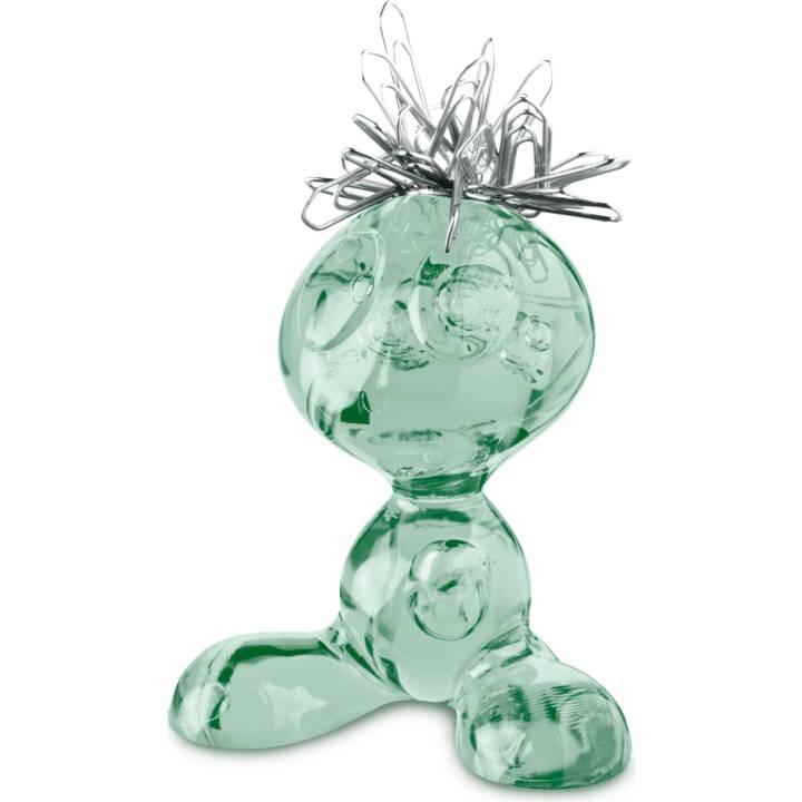 KOZIOL Curly Büroklammernspender (Grün)