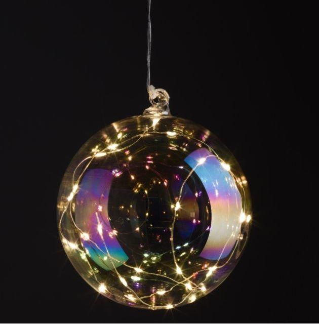 INTERTRONIC Glasleuchte LED Glass Ball Light