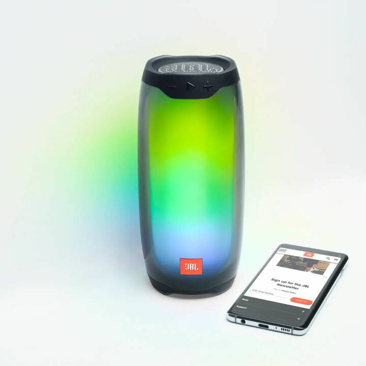 JBL Pulse 4 (Bluetooth, Schwarz)