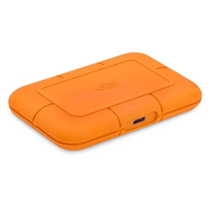 LACIE Rugged (500 GB, Orange)