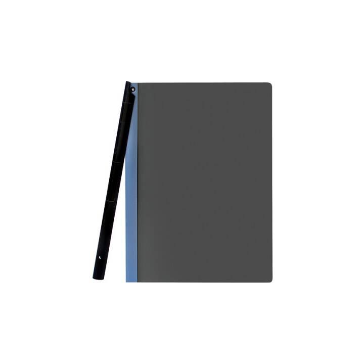 BÜROLINE Agrafeuse à clip A4 bleu