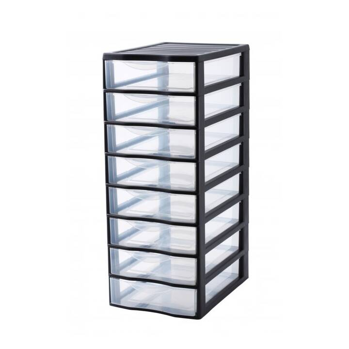 ROTHO Orgamix Box de tiroirs (Noir)