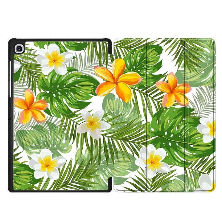 "EG MTT Custodia per Samsung Galaxy Tab S5e 10.5"" 2019 - piante tropicali"