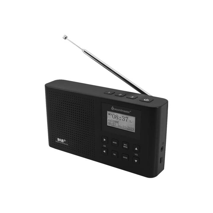 SOUNDMASTER DAB160SW Radio digitale (Nero)