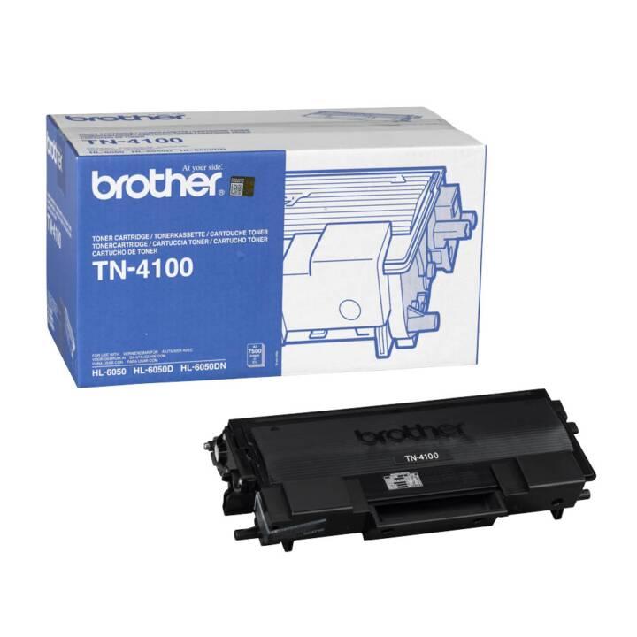BROTHER TN4100 (Einzeltoner, Schwarz)