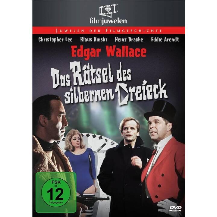 Das Rätsel des silbernen Dreiecks - Edgar Wallace (DE)