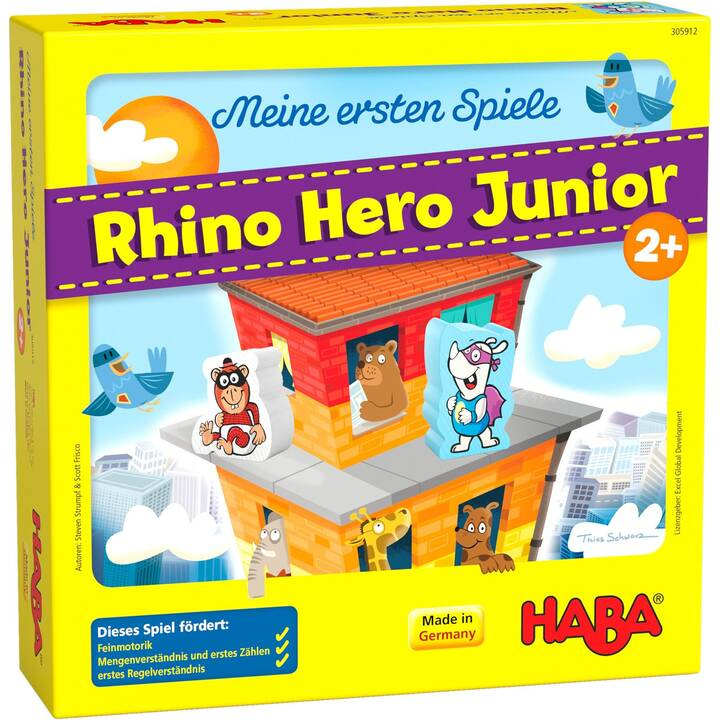 HABA Meine ersten Spiele Rhino Hero Junior (DE)