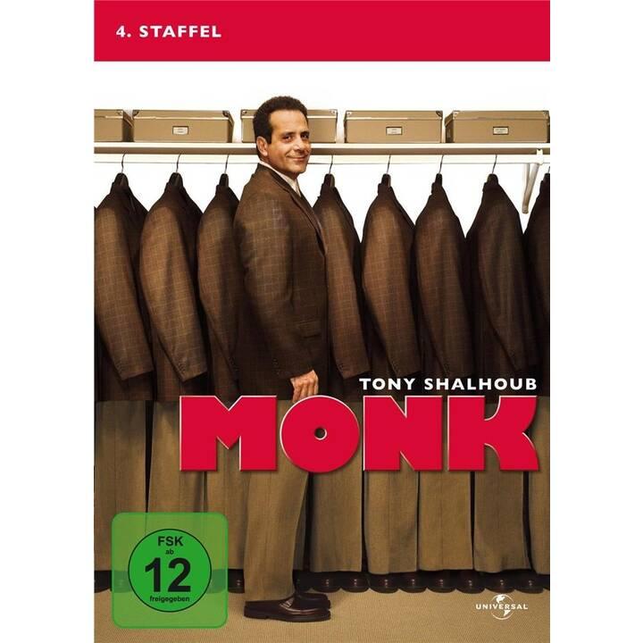 Monk Stagione 4 (DE, EN)