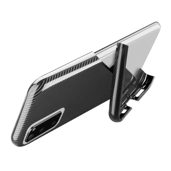 CELLULAR LINE Backcover Stand-up (Galaxy A41, Nero)