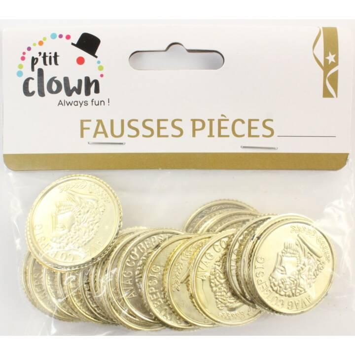 P'TIT CLOWN Décoration de fête Fausses pièces (3 cm)