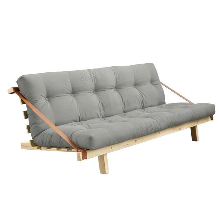 KARUP DESIGN Jump Divano letto (Poliestere, Cotone, Grigio, 130 cm x 202 cm)