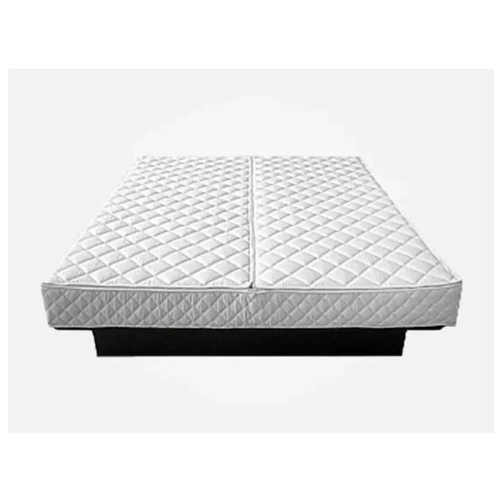 BELIANI Comprimaterasso white (180 cm x 200 cm)
