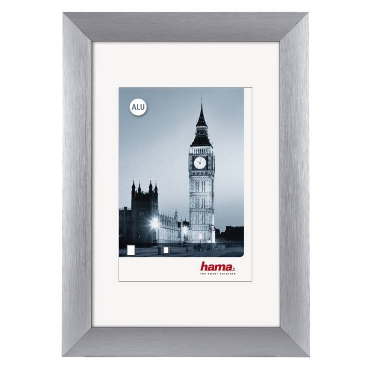 HAMA London Cadres (13 cm x 18 cm, Argent)