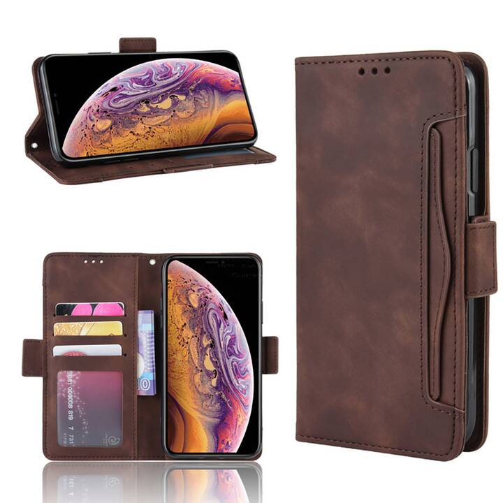 EG Mornrise Wallet Case für Samsung Galaxy Note 20 6.7 '' (2020) - braun