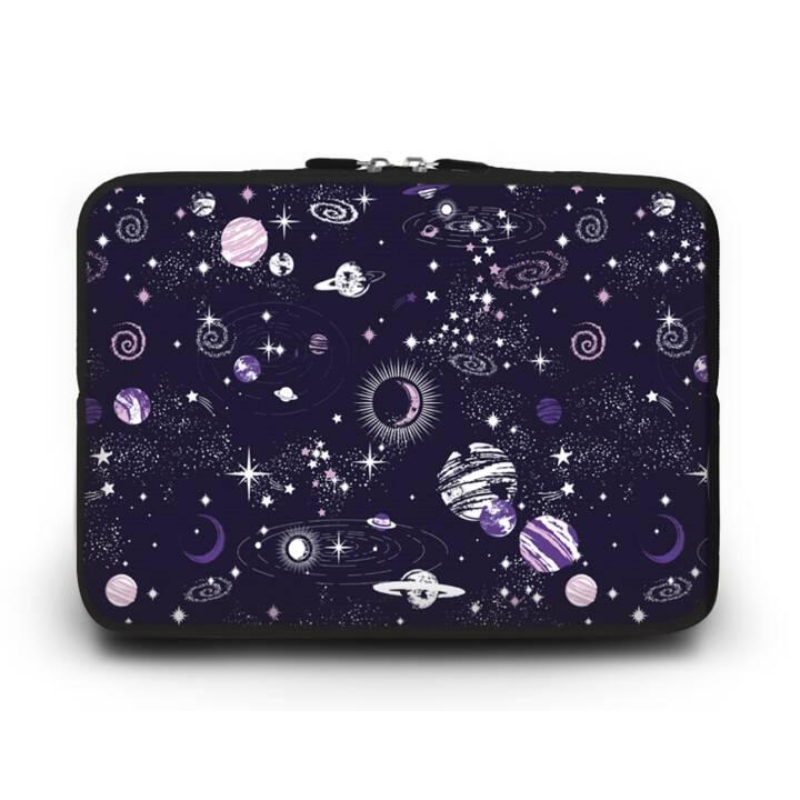 """EG HUADO Housse d'ordinateur portable pour 7"""" - Univers"""