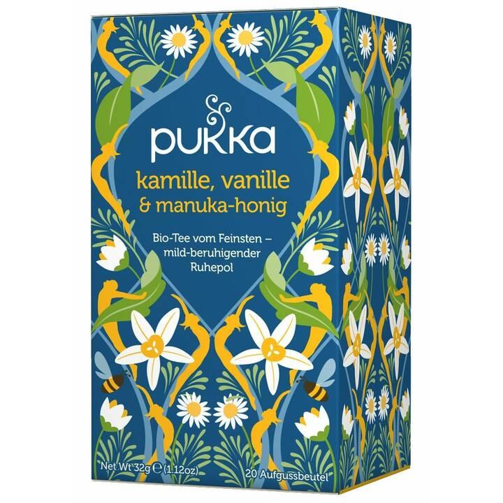 PUKKA Kamille, Vanille & Manuka-Honig Aromatisierter Tee (Teebeutel, 20 Stück)