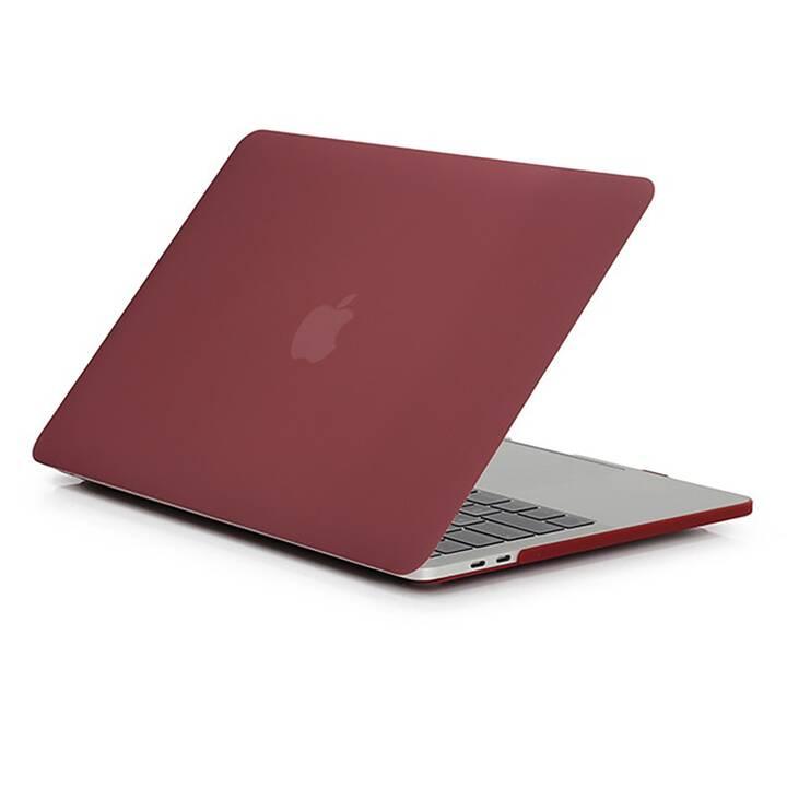 """EG MTT Housse pour Macbook Pro 13"""" pas Touchbar (2016 - 2018) - vin rouge"""