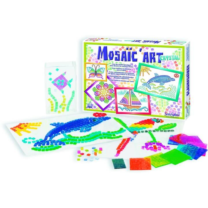 SENTOSPHERE Mosaico Arte Mosaico Arte Cristallo set artigianale