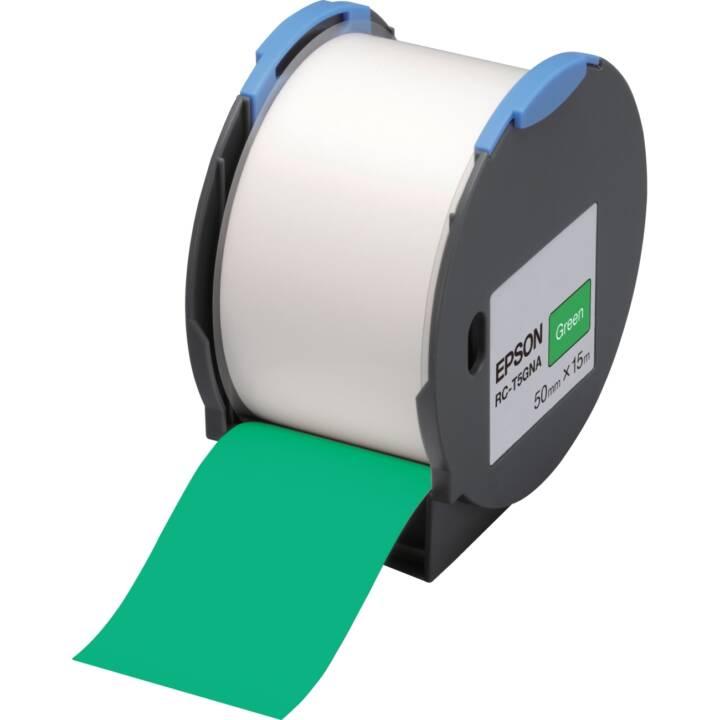 EPSON Nastro in plastica poliolefina poliolefina RC-T5GNA, verde