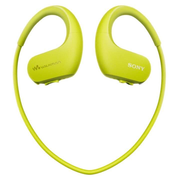 Casque d'écoute SONY Digitalplayer NWWS413G.CEW 4GB Lime Green