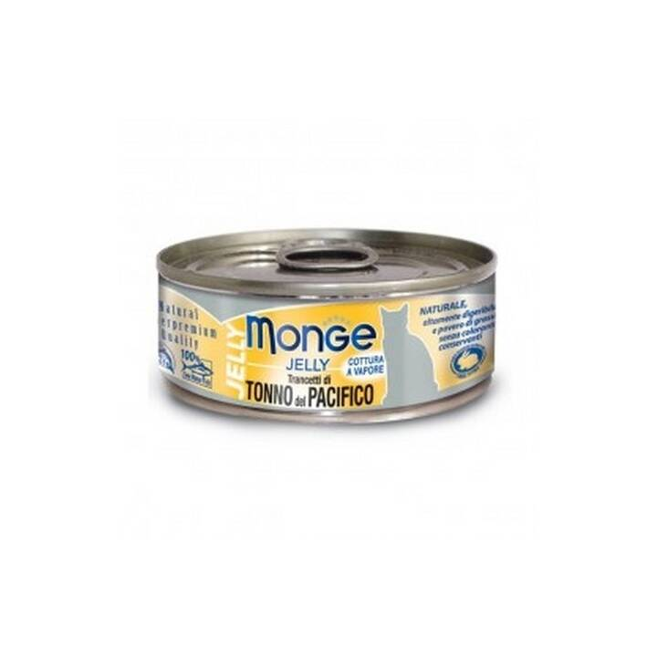 MONGE Jelly Cat (Adulto, 80 g, Tonno)