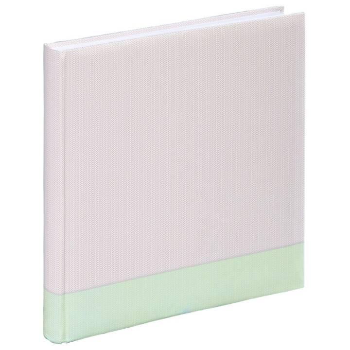"HAMA Jumbo-Album ""Filigrana"", 30x30 cm, 80 weisse Seiten, Mintgrün"