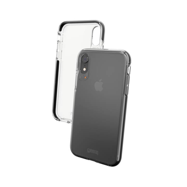 GEAR4 Cover Piccadilly für iPhone XR, Black/Clear