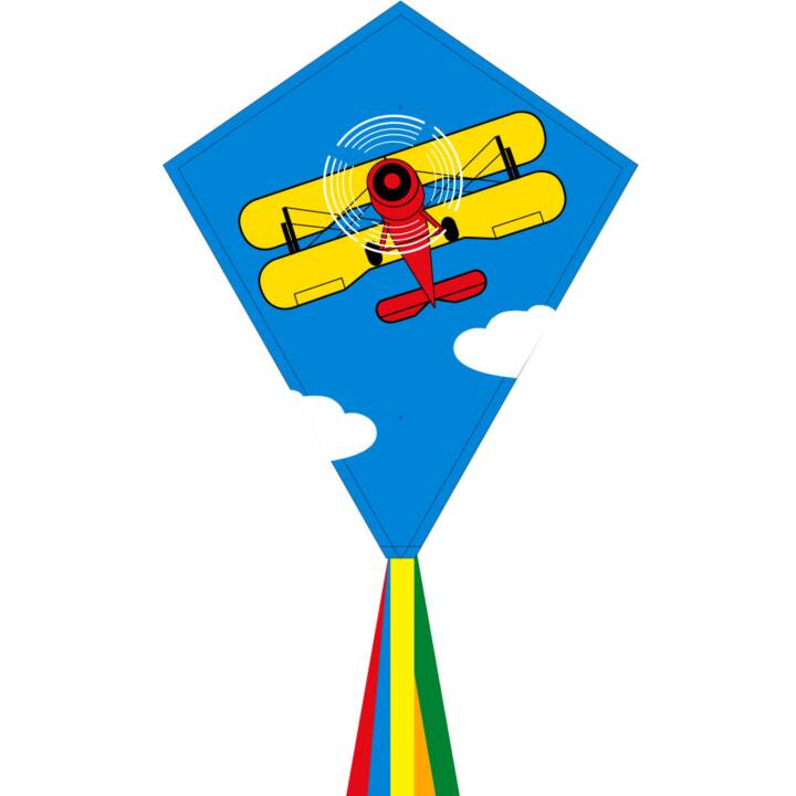 INVENTO-HQ acrobazia aquilone Eco Line Biplane