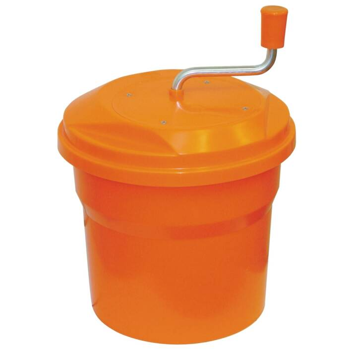 DYNAMIC Professional Salad Spinner 10 l orange