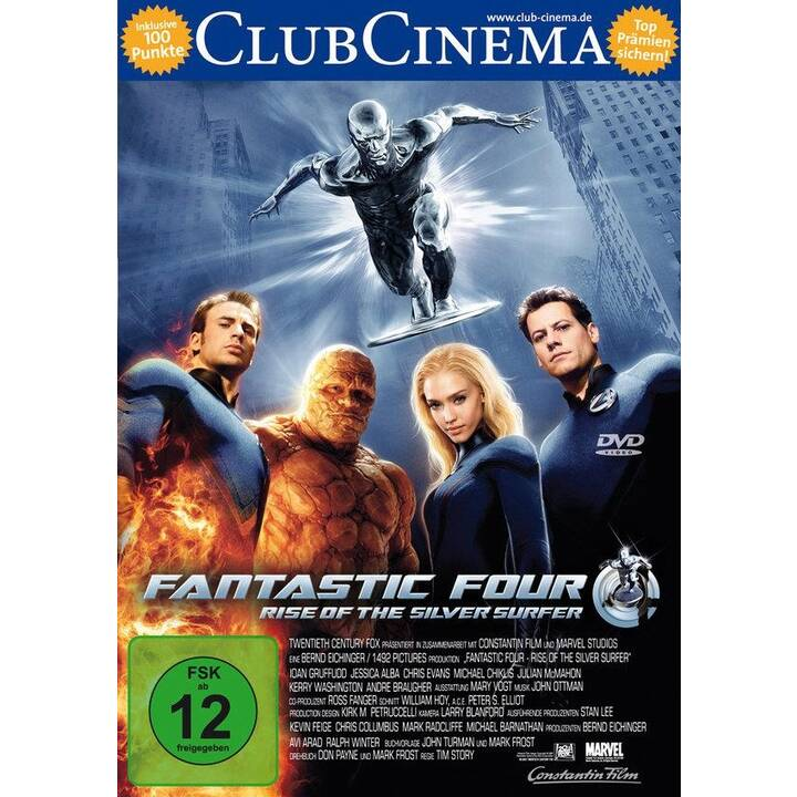 Fantastic Four - Rise of the Silver Surfer (EN, DE)