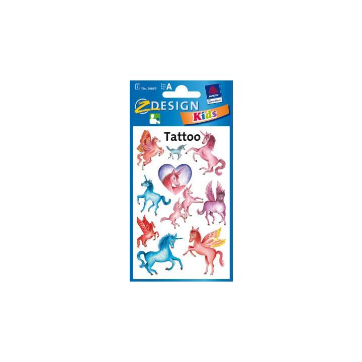 Z-DESIGN Sticker Sticker Tattoo Motif