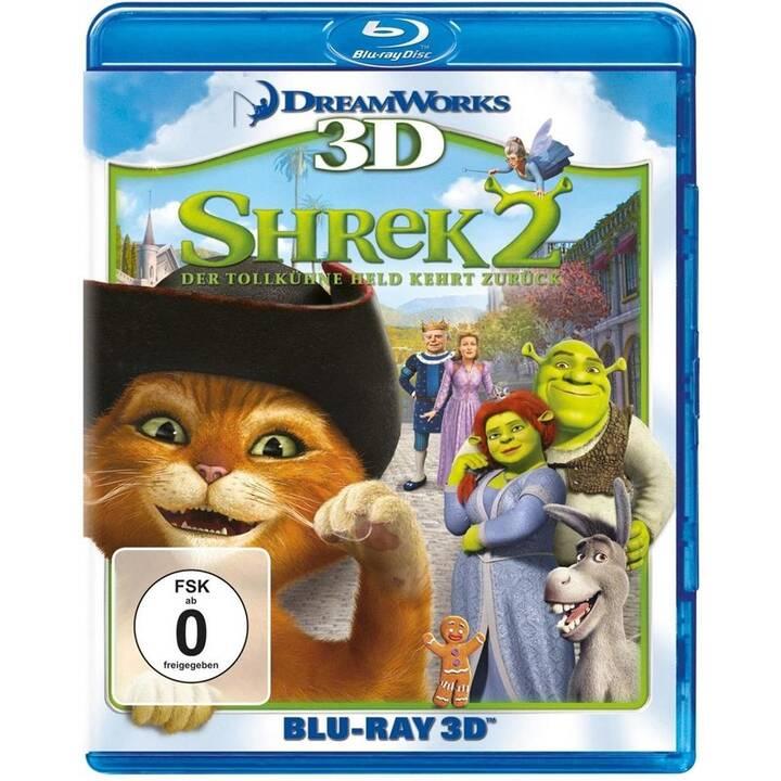 Shrek 2 - Der tollkühne Held kehrt zurück (Mandarino, KO, ES, IT, PT, NL, DE, EN, RU)