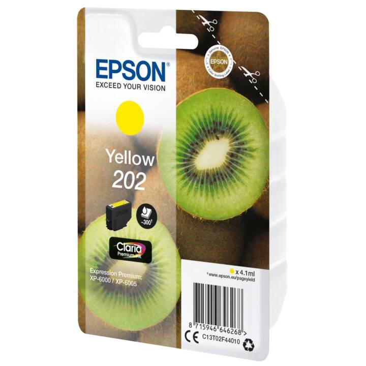 EPSON Cartouche d'encre 202 Jaune