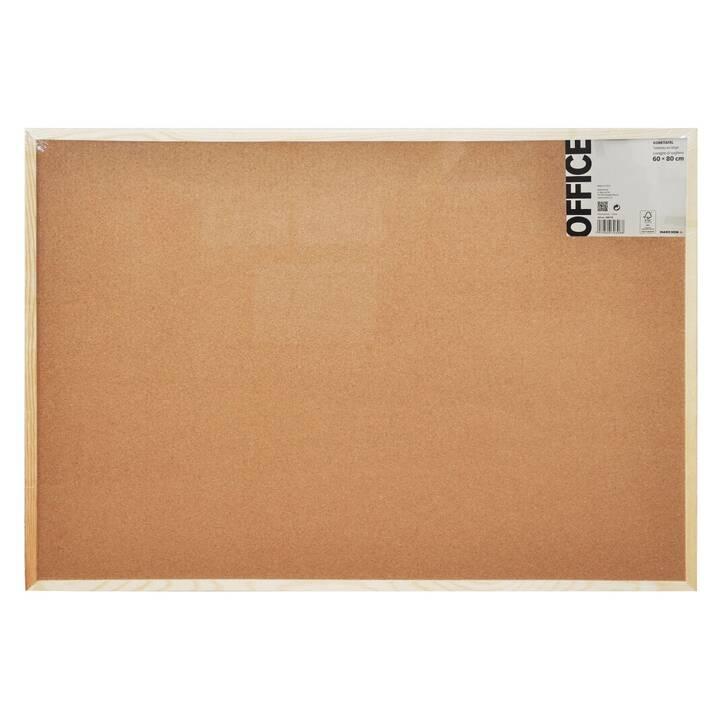 MARCHON OFFICE Tableau en liège Cork (800 mm x 600 mm)