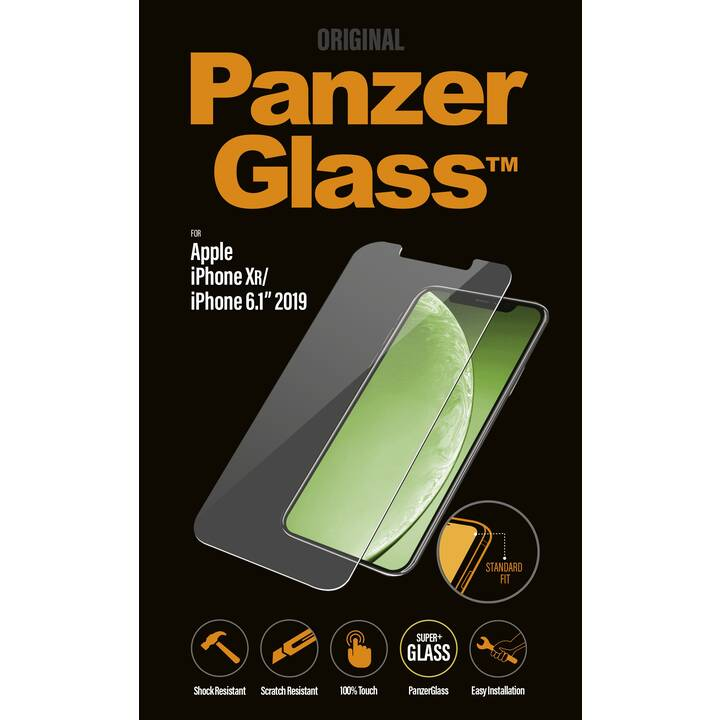 PANZERGLASS Displayschutzglas (iPhone 11, iPhone XR)