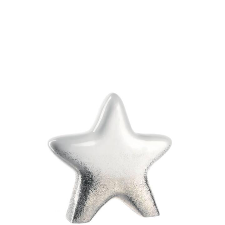 LEONARDO Sterne (4 Stück, Silber)