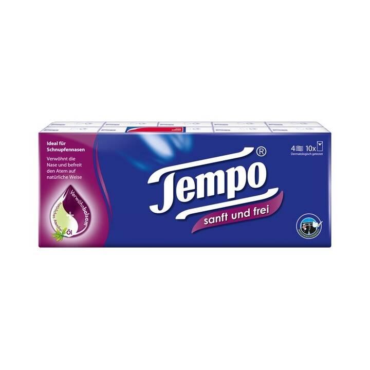 TEMPO Taschentuch Sanft & Frei  (10 Stück)
