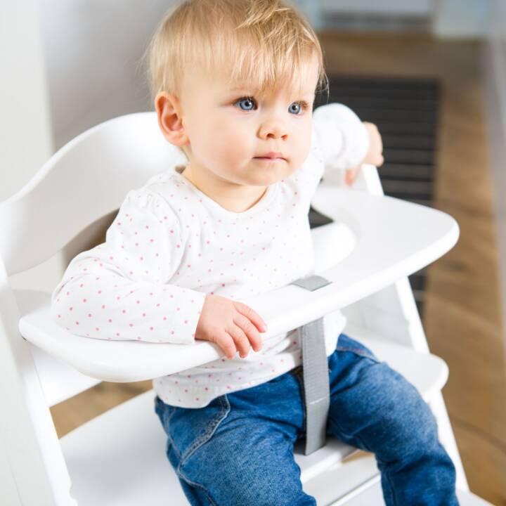 Chaise haute d'escalier HAUCK Alpha+ Blanc