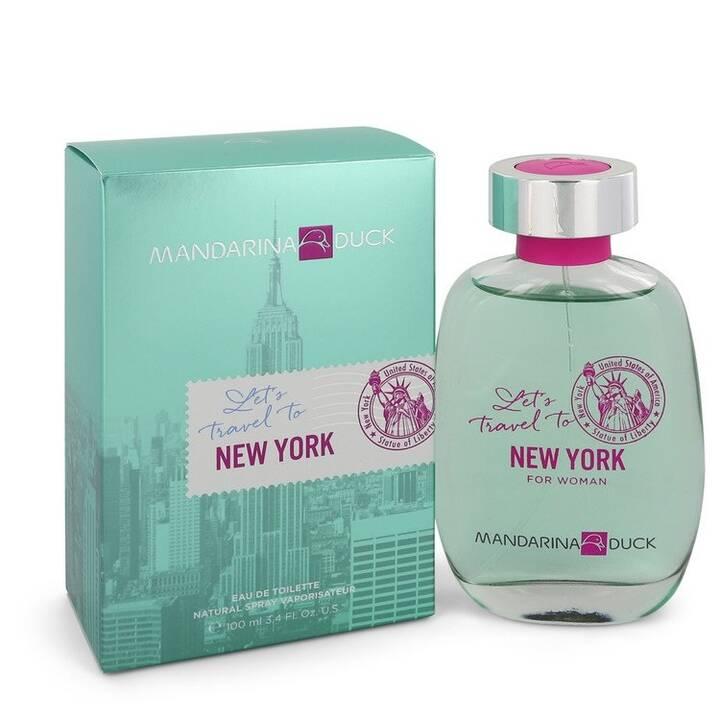 MANDARINA DUCK Let's Travel to New York (100 ml, Eau de Toilette)