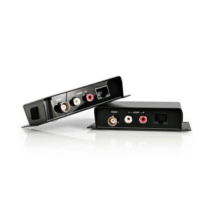 STARTECH.COM Composite Video Extender über Cat5 UTP mit Audio