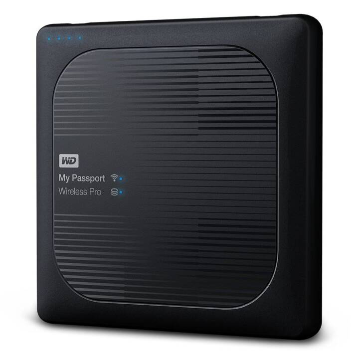 WD My Passport (USB 3.0, 4 TB, Schwarz)