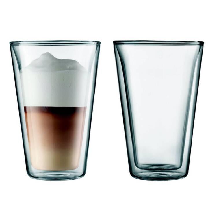 BODUM Bicchiere da acqua Canteen (400 ml, 2 pezzo)