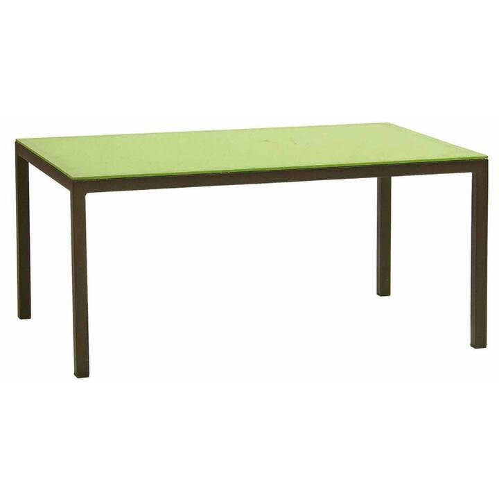 MUTONI GARTEN Tavolo da giardino Tetrix  (55 x 85 cm, Verde)