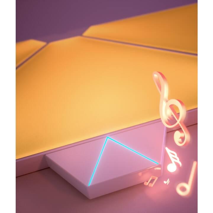 NANOLEAF Lumière d'ambiance LED Smarter 9P Rhythm (Blanc)