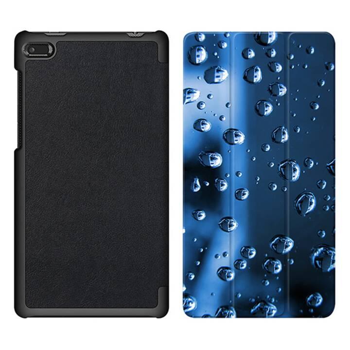 """EG MTT Sacoche à comprimés avec couvercle rabattable pour Lenovo Tab 7 Essential 7"""" - Waterdrops"""
