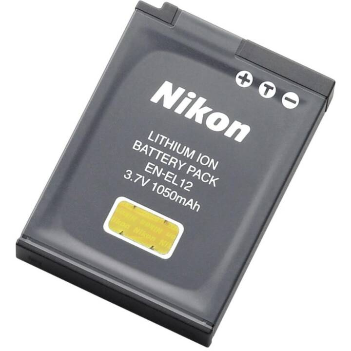 NIKON EN EL12 batteria della fotocamera, ioni di litio, 1050 mAh