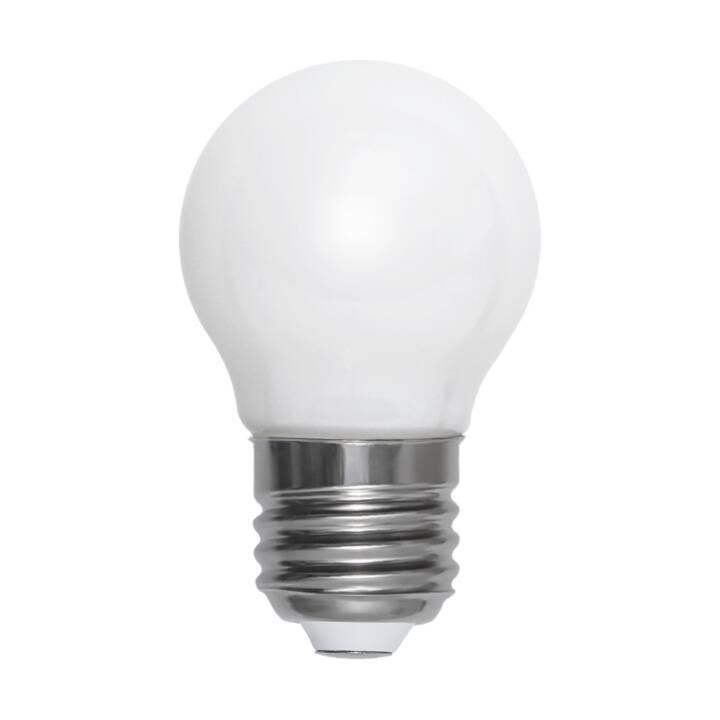 STAR TRADING LED Birne Opaque Filament  (E27, 2 W)